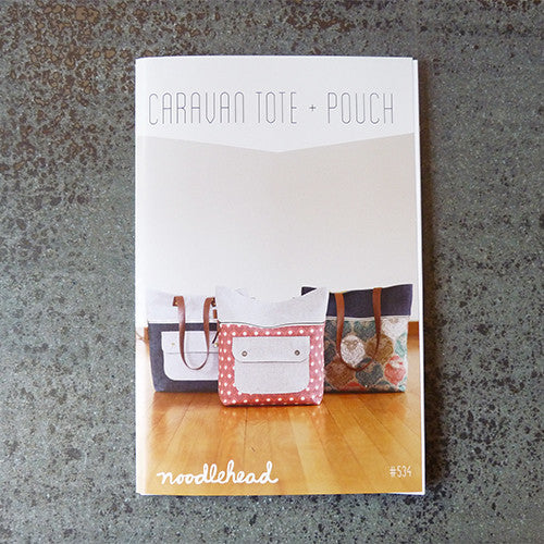 Noodlehead Patterns : Caravan Tote and Pouch Thumbnail