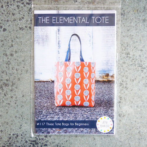 noodlehead elemental tote bag sewing pattern