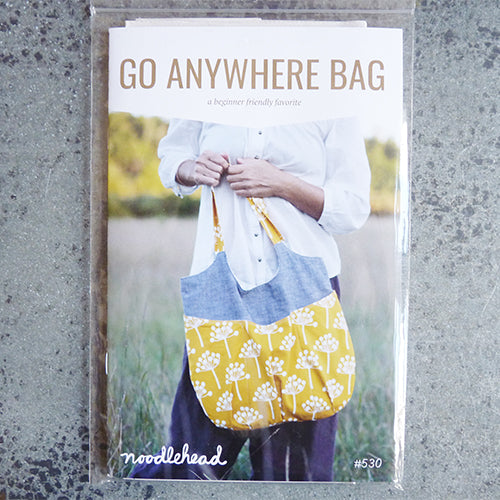 noodlehead do anywhere tote bag sewing pattern