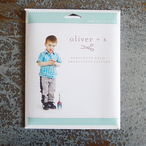 oliver and s parachute polo shirt and sweatpants sewing pattern