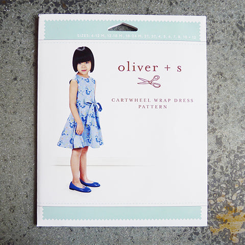 oliver and s cartwheel wrap dress sewing pattern