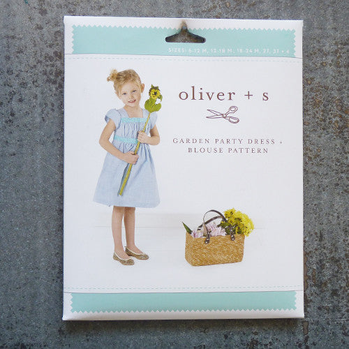 oliver + s garden party sewing pattern front
