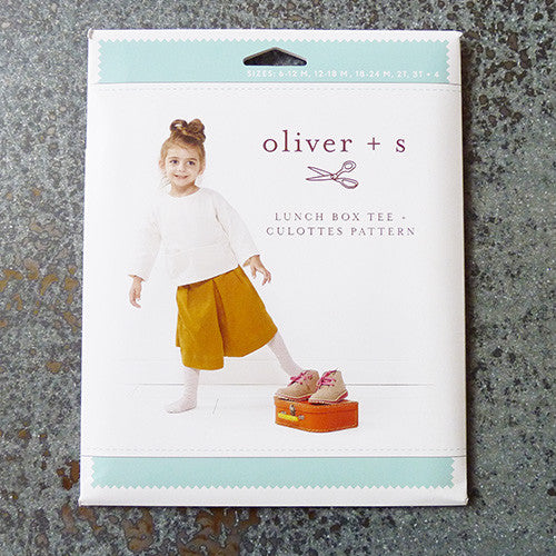 oliver and s sewing pattern lunch box tee and culottes