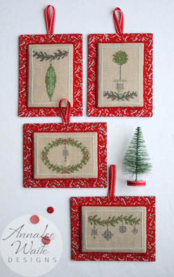 Counted Cross Stitch Pattern: Little Christmas Ornaments