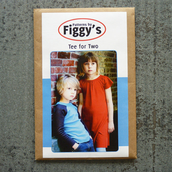 Figgy's Tea for Two raglan tee sewing pattern