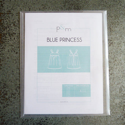 Papillon & Mandarine Patterns : Blue Princess