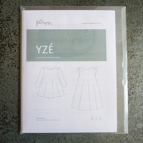 Papillon & Mandarine Patterns : Yze Blouse or Dress