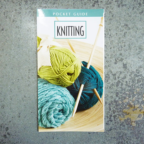 pocket guide to knitting