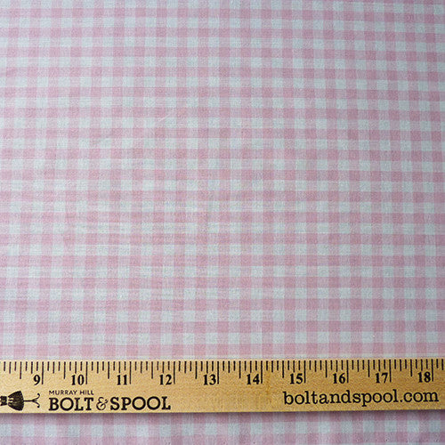 Imperial Wide Gingham - Light Pink Thumbnail