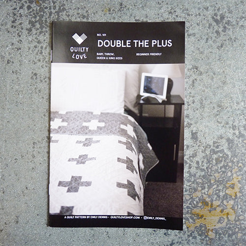 quilty love double the plus quilt sewing pattern