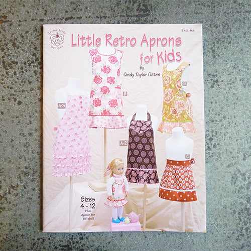 little retro aprons for kids book taylor made