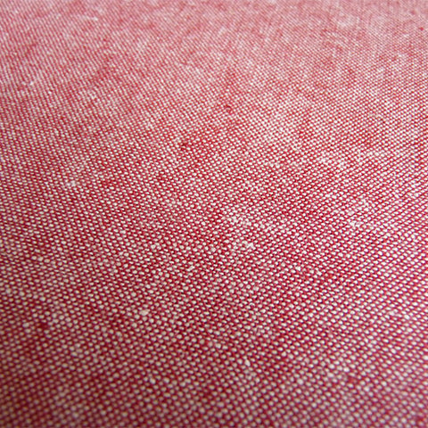robert kaufman essex linen cotton chambray red