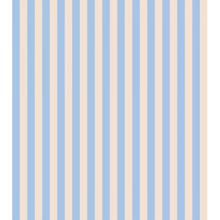 Cotton + Steel : Rifle Paper Co. Primavera - Cabana Stripe - Periwinkle quilting cotton fabric