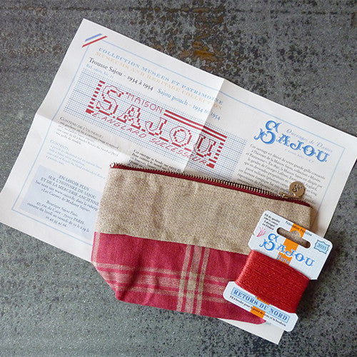 sajou cross stitch kit