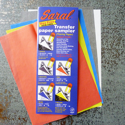 saral transfer tracing paper