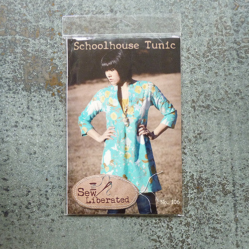 sew liberated schoolhouse tunic sewing pattern