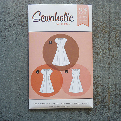 sewaholic patterns davie dress