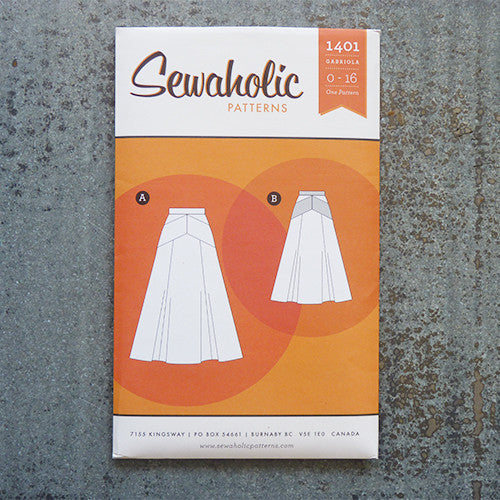 Sewaholic Patterns : Gabriola Maxi Skirt Thumbnail
