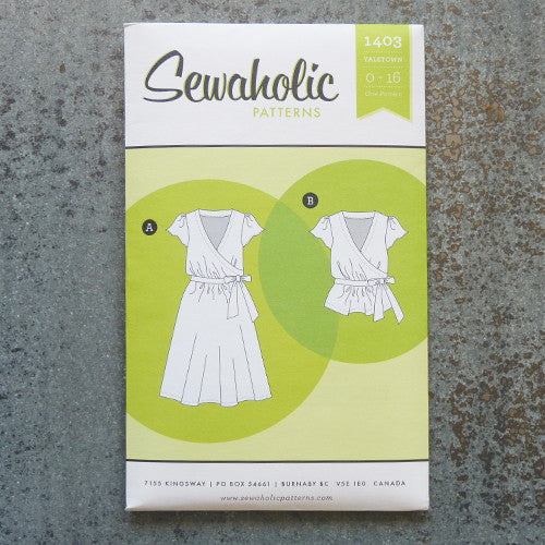 Sewaholic Patterns : Yaletown Dress and Blouse Thumbnail