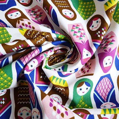 seven islands kokka canvas matryoshka dolls