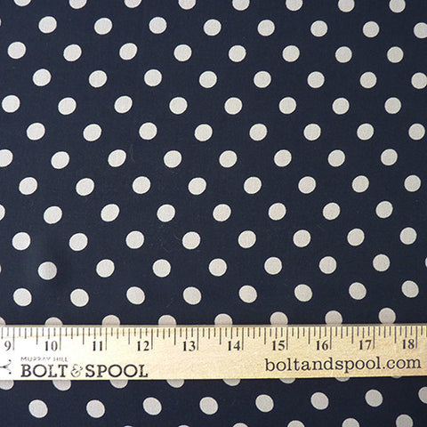 milly silk dot chiffon