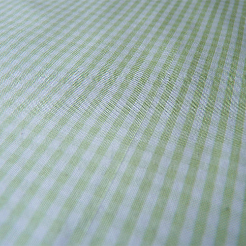 Silk Poonah Gingham - Lime Thumbnail