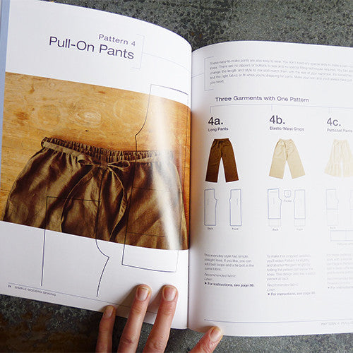 simple modern sewing book