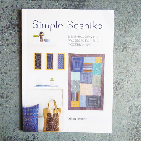 simple sashiko stitching book