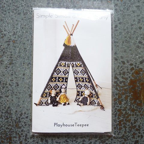simple simon and company teepee sewing pattern