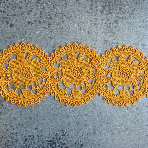 Solstiss Lace : Marigold Medallions