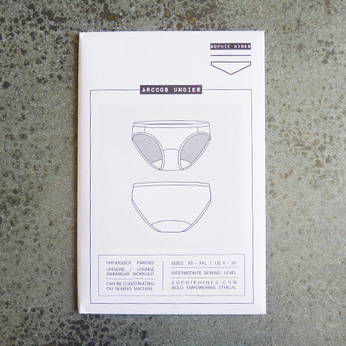 sophie hines arccos undies sewing pattern