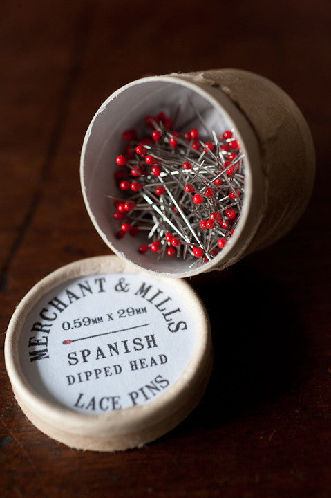 Merchant & Mills Notions : Spanish Lace Pins Thumbnail