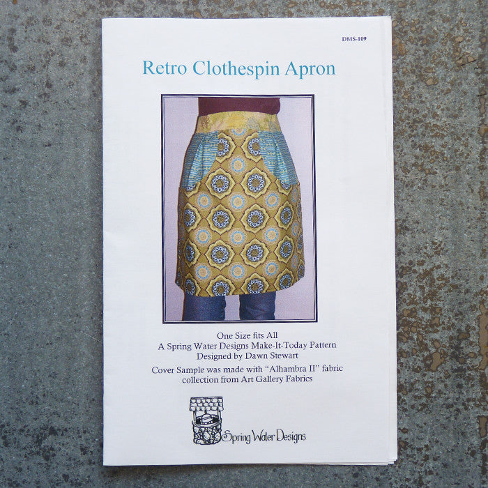 Spring Water Designs : Retro Clothespin Apron Thumbnail