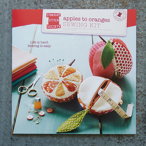 straight stitch society apples to oranges sewing pattern front