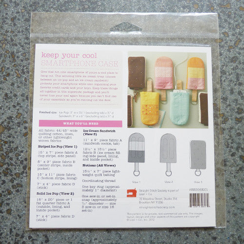 Straight Stitch Society : Keep Your Cool Smartphone Case Thumbnail