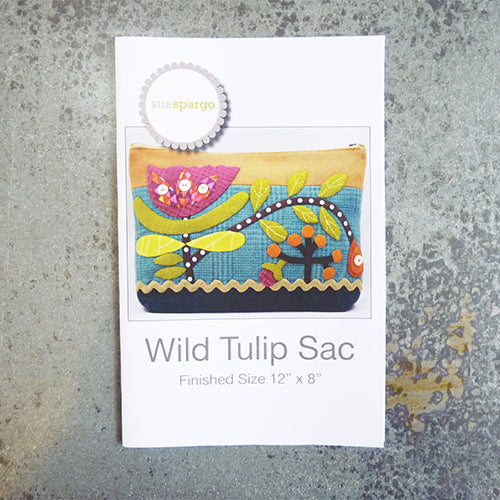 sue spargo wild tulip sac bag pattern instructions