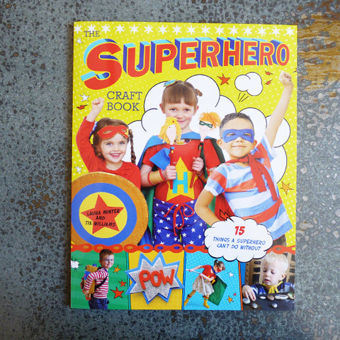 superhero craft book