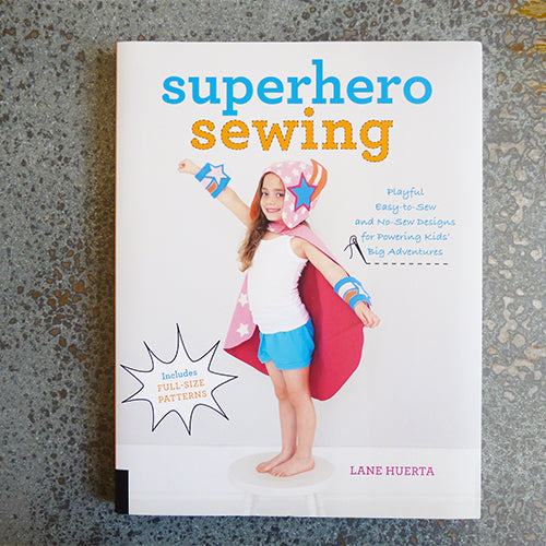 superhero sewing craft book lane huerta