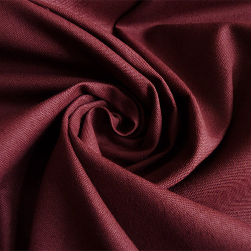 cotton canvas wine red