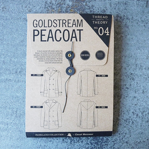 thread theory goldstream peacoat
