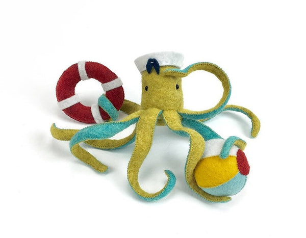 Threadfollower: Hand stitching project - Ellie Octopus