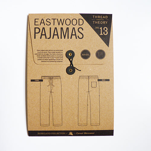 Thread Theory : Eastwood Pajamas sewing pattern