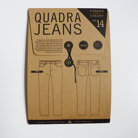 Thread Theory : Quadra Jeans sewing pattern