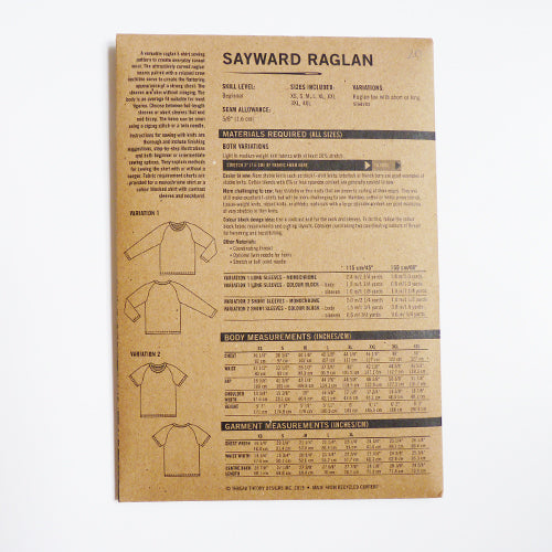 Thread Theory : Sayward Raglan