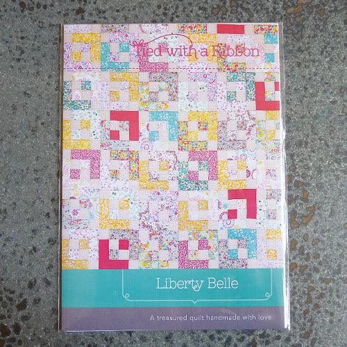 tied with a ribbon liberty belle quilt sewing pattern