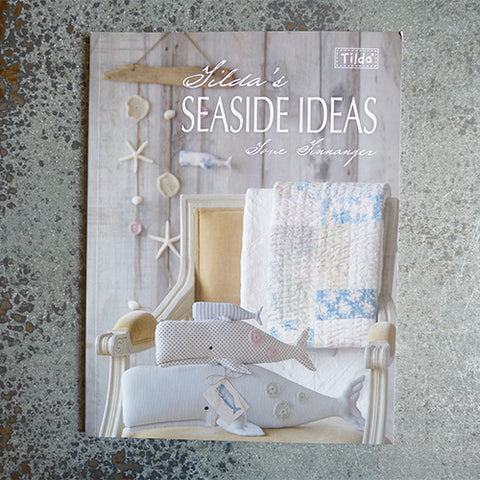 tilda seaside sewing craft book tone finnanger