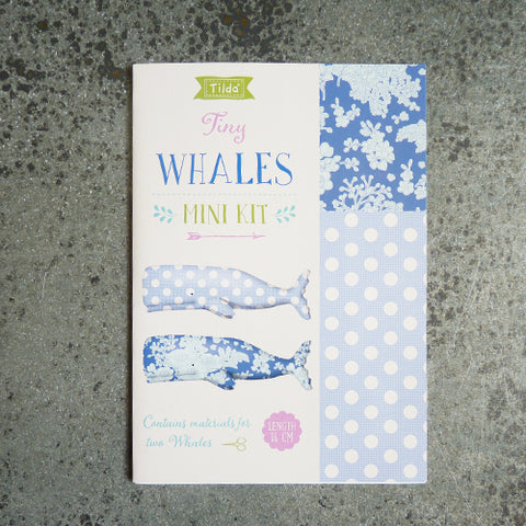 tilda mini whale sewing kit