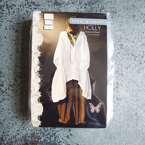 tina givens holly tunic pants sewing pattern