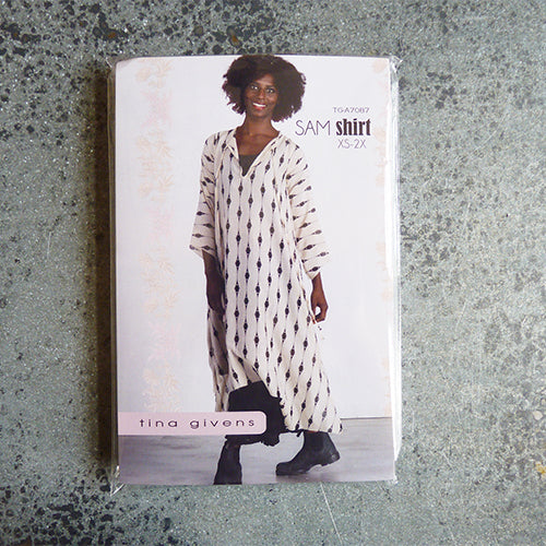 tina givens sewing pattern sam shirt