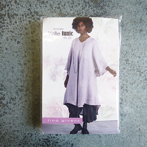 tina givens sewing pattern yollie tunic